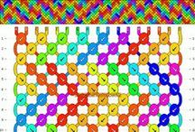 Friendship Bracelet Patterns / by Joanne Gibbings