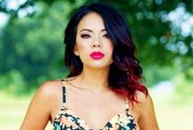 Hot - Janel Parrish / by Jeff Guy