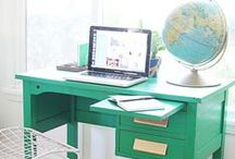 Home office. / by Leslie Ashford