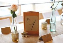 Wedding details and inspiration / Beautiful details and wedding ideas from our great couples.