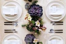 Tablescapes / #Tablescapes #Decor #Receptions #Weddings #EventDecor