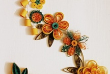 Quilled Wall Decor / Quilled and framed wall decor that have made for friends and family !