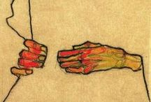 Hands / The most expressive part of human body that fascinated artists from the very beggining of pictorial art
