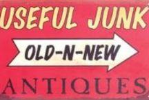 Useful junk...Old-N-New / Repurposed ideas / by Lesli Opp