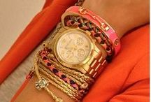 Bangles, Beads and Bling / accessorize, but not overkill / by Kathy Walker
