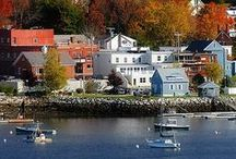 Towns & Cities New England / Maine, Massachusetts, Connecticut, Rhode Island, New Hampshire and Vermont / by Kathy Walker