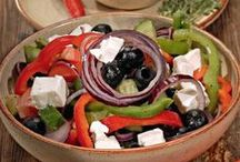 Фото-рецепты салатов со всего мира / Любимые и очень вкусные рецепты салатов.