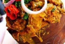 Gastronomia Africana  / Não existe amor mais sincero do daquele pela comida .. / by soraia varela cabral
