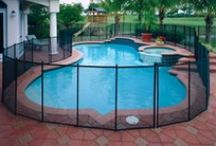 Life Saver Pool Fence / Photographs of pool fence installations.