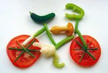 Food Art / We give you permission to play with your food.