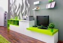 Modern living room ideas / Modern living room ideas . Customize your furniture and make your own design with magnetic modular concept YaCUBE .