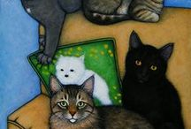 Cat art and such / Anything to do with cats! I love them!