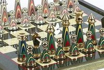 Cool Chess SETS / Unique, creative and fabulous chess sets and pieces. / by Sharon Pain