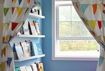Kids Reading Nook / Kids comfy spaces to read
