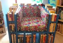 Dreamy Reading Spaces / Get comfy and read in these reading nooks/spaces