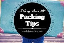 Packing Tips / Wonder what to wear in a certain city? Want to know the best ways to pack for a trip? You'll find the answers here.