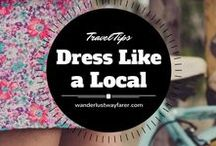 Travel Outfits / Want to know what to wear while traveling? Here are some great outfits for planes, trains, and automobiles.