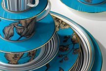 Bold Statement Dining / Wedgwood's statement designs on fine bone china tableware collections create the perfect table setting for a unique dining experience at home.   Mix and match bold pieces from sophisticated tableware and teaware collections, designed for sociable evenings with family and friends.