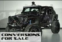 Custom Lifted Jeeps For Sale / ConversionsForSale.com New and Used custom lifted Jeeps / by Conversions For Sale