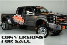 Lifted Ford Trucks For Sale / ConversionsForSale.com New and Used Ford Lifted Trucks for sale / by Conversions For Sale