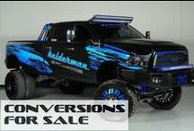 Lifted Dodge Ram Trucks For Sale / ConversionsForSale.com New and Used Dodge Ram Lifted Trucks / by Conversions For Sale