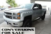 Lifted Chevy/GMC Trucks For Sale / ConversionsForSale.com Lifted Chevy/GMC Trucks For Sale / by Conversions For Sale