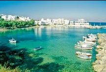 Piso Livadi, Paros / Piso Livadi is a small picturesque resort with a vary clean sandy beach where you can enjoy fresh fish. http://goo.gl/feCzqN
