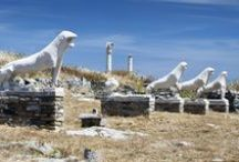 Day cruise from Paros to Delos island / Join a one day trip from Paros to Delos, the sacred island of Apollo and Artemis, with it's unique archeological monuments and one of the most important archeological museums in Greece.  http://goo.gl/Bi2xdY