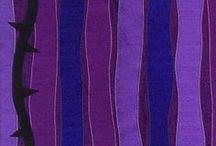 Purple Paraments / Parament designs for Lent or Advent.