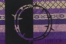 Purple Banners / Banner designs for Lent or Advent.