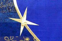 Blue Paraments / Parament designs for Advent.