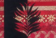 Red Paraments / Parament designs for Palm Sunday, Pentecost or other church holy days.