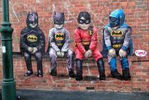ART on the STREET!! / street art and graffiti