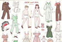 Jack and Jill Magazine / Paper Dolls / by Jane Alfano Rasor