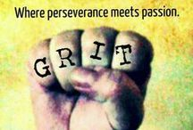 GRIT / grit, perseverance, resilience, passion - grinta, perseveranza, resilienza, passione