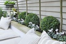 Outdoor decorating / Adding some personality to your outdoor areas