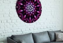 Tapestries / Need to fill up a wall space or looking to take a new funky spin on a traditional form of art? Try one of Grund's Mandala designs as a tapestry for your living space. Each Mandala has a unique design with its own personal story. Find your inner artist with a Mandala tapestry.
