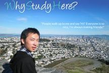 "Why Study Here / we ask students the question ""why study here"" join the discussion at whystudyhere.com"