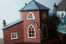 My 4th Dolls House -  The Toll House / Here is my Toll House which I have renovated lately.