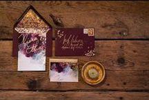 Hunia Wedding Stationary