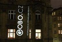 Fotogalerie - Gobo projekce. GOBO.CZ / GOBO.CZ: Ukázky světelné gobo projekce. Světelná projekce. Goba a LED projektory.