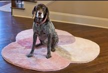 Grund Pet Pads / Even though our rugs are geared towards humans, our furry friends seem to like them too!  The good news, all Grund Rugs can be washed up to 100 times.