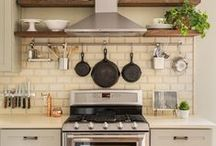 Kitchen Makeover / Ideas that could encourage you to start enjoying cooking, and eating some of our favorite recipes and restaurants with us!