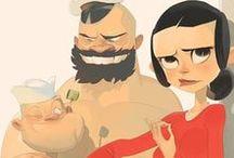 ilustrações l personagens