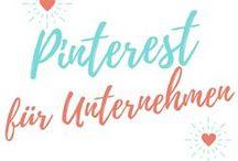 Pinterest für Unternehmen / Pinterest ist ein genialer Social Media-Kanal, um mit dem eigenen Unternehmen mehr Markenbekanntheit zu bekommen. Ich liebe es, damit zu arbeiten und sammel hier auf diesem Board Tipp, um Pinterest noch besser zu nutzen