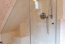 Dusche - Fünfeck
