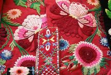 Embroidery / #craft #crosstich #embroidery #linen #style #colours #design