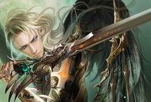 Deviantart  Fantasy / Pictures of fantasy creatures using deviantart. / by Bonnie B.