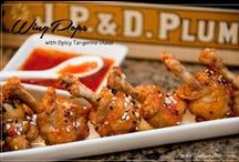 Chicken Appetizers / Our chicken appetizers are unique blends of ingredients. Combinations of rich flavors from All-American to the tropics to Asia and all over the world make these chicken bites wake up your taste buds.