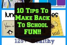 Back to School - Thirfty Tips, Recipes, Savings & More